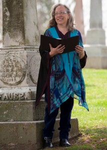 Colleen Good~Funeral Celebrant presides Graveside Service